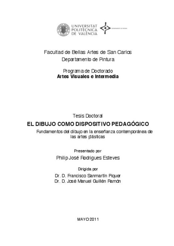 EL DIBUJO COMO DISPOSITIVO PEDAGÓGICO