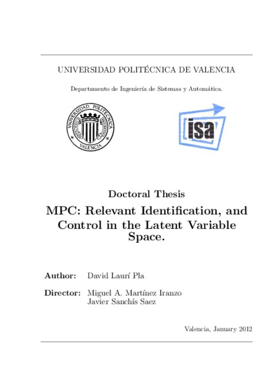 MPC: Relevant Identification, and Control in the Latent