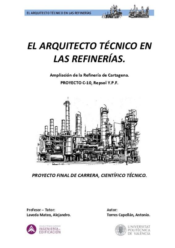 EL ARQUITECTO TÉCNICO EN LAS REFINERÍAS