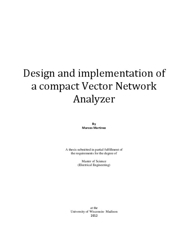 Design and implementation of a compact Vector Network