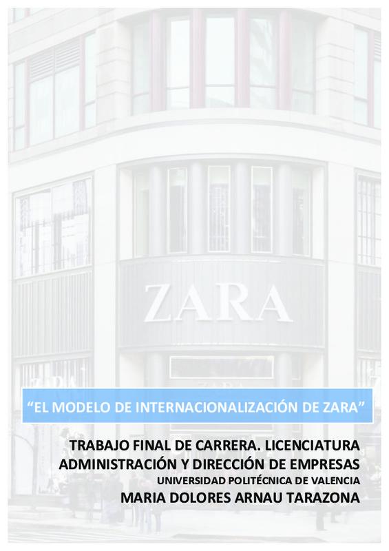 Contable Disminución Abrumador  TRABAJO FINAL DE CARRERA. LICENCIATURA ADMINISTRACIÓN Y DIRECCIÓN DE  EMPRESAS MARIA