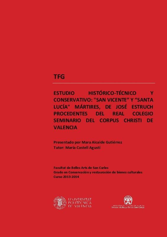 ESTUDIO HISTÓRICO-TÉCNICO Y CONSERVATIVO: