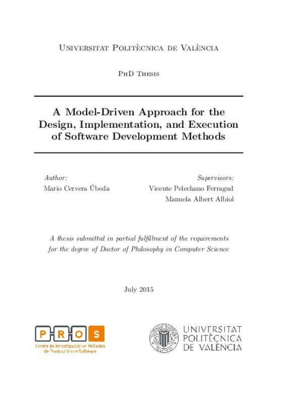 A Model-Driven Approach for the Design, Implementation, and