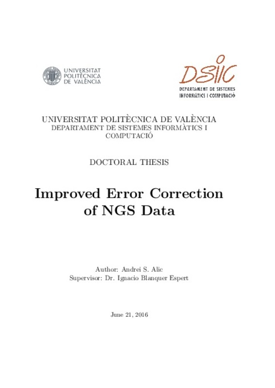 Improved Error Correction of NGS Data