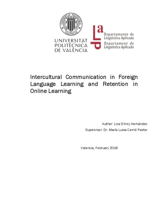 Intercultural Communication in Foreign Language Learning and