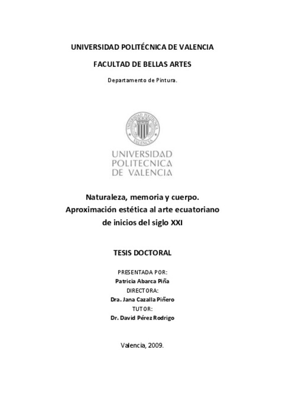 f370edfb79 UNIVERSIDAD POLITÉCNICA DE VALENCIA