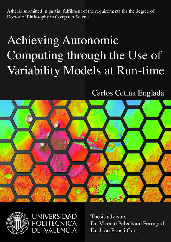 Achieving Autonomic Computing through the Use of Variability