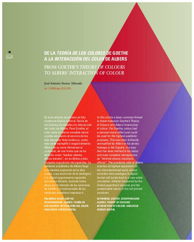 Josef Albers Teoria Del Color Pdf