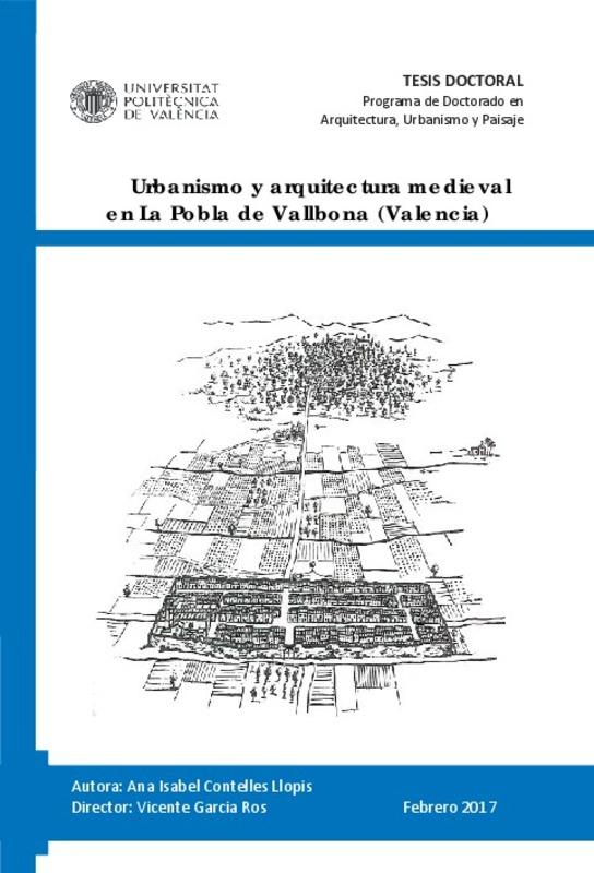 urbanismo y arquitectura medieval en la pobla de vallbona On urbanismo arquitectura pdf