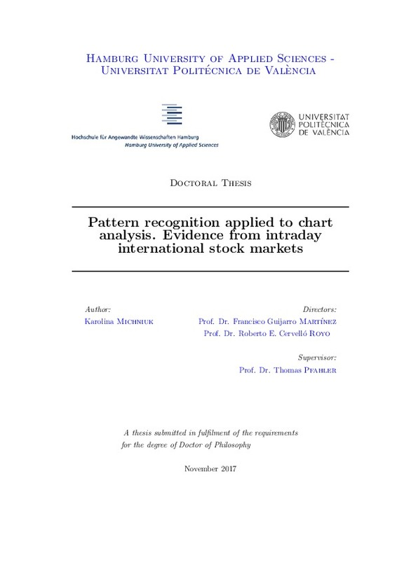Pattern recognition applied to chart analysis  Evidence from