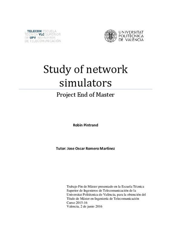 Study of network simulators