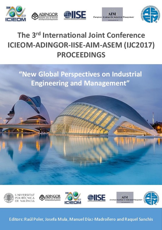 The 3rd International Joint Conference ICIEOM-ADINGOR-IISE